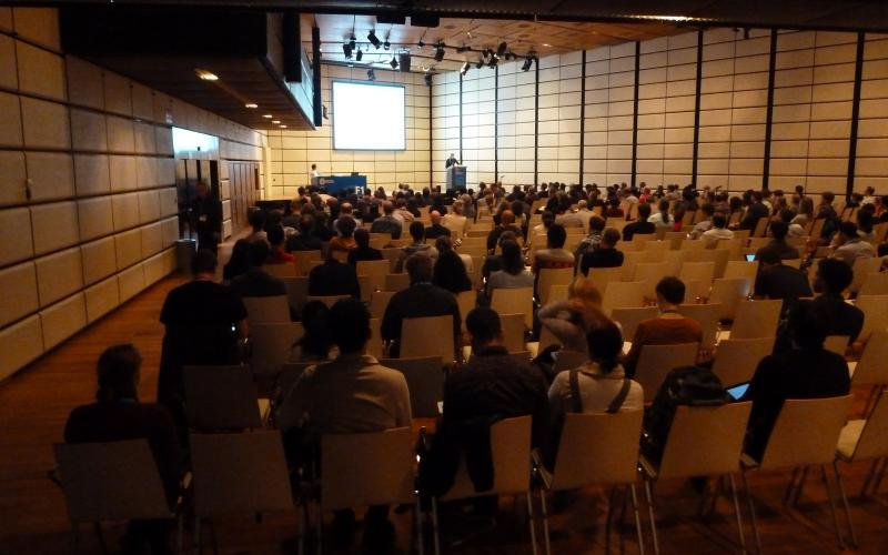 GHG session auf der EGU im Austria Center Vienna; (c) Stephan Matthiesen 2016